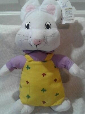 "Ruby From Max And Ruby 15"" Stuffed Plush Animal Kellytoy 2014 New With Tags"