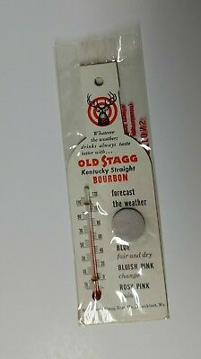 Vintage Old Stagg Kentucky Bourbon Whiskey promo thermostat