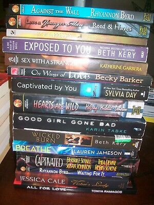 Lot of 15 EROTICA ROMANCES - Ellora's Cave & More