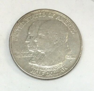 1923-S Monroe/Adams Commemorative Half Dollar