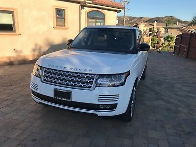 2014 Land Rover Range Rover  2014 Range Rover Supercharged LWB