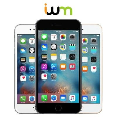 Apple iPhone 6 Plus 16GB 64GB 128GB Unlocked OR AT&T/ Verizon/ T-Mobile/ Sprint