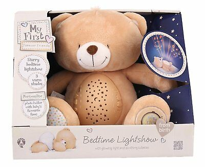 My First Forever Friends Bedtime Bear Nightlight Light With Lullabies Lightshade