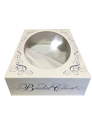 Wedding Gown Preservation Storage Box *white* - Midsize Gowns **free Ship **