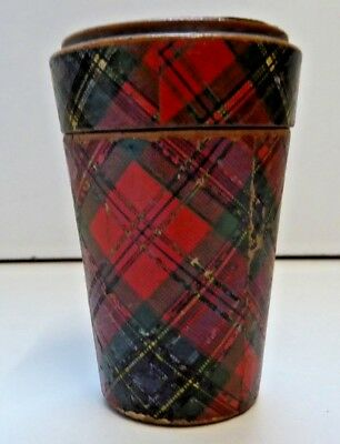 Antique M'Lean Tartan Ware Pot