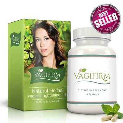 Vagifirm Vaginal Tightening Pills All Natural Herbal Supplement Womens Health