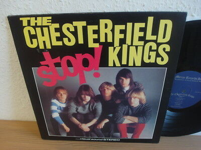 "THE CHESTERFIELD KINGS ""Stop "" LP Mirror 10 NM Rock 1st Pressing"