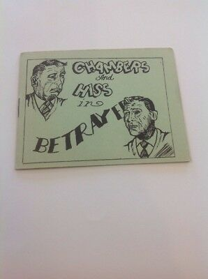 Tijuana Bible 8 Pager Risqué Comic Chambers's And Hiss In Betrayed