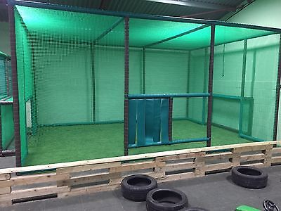 Indoor Soft Play Equipment Football Area, refurb, design and build, trampoline