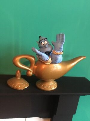 Disney Aladdin Plush Genie of the Lamp Mattel Soft Toy Complete