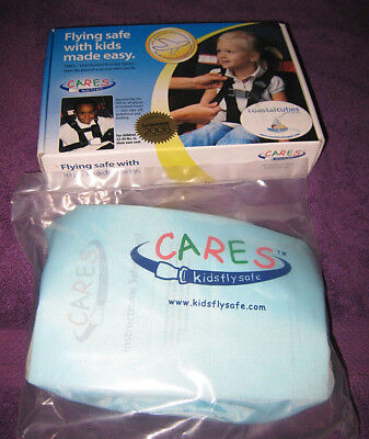 Cares Kids Fly Safe Airplane Harness Seat Belt Safety Restraint NEW / 22-44lbs
