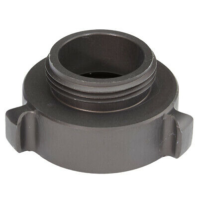 """Aluminum 2"""" Female NPT to 1 1/2"""" Male NH Fire Hose Adapter"""