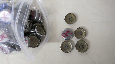 Bag of Assorted Lucky Lager Puzzle Piece Bottle Caps