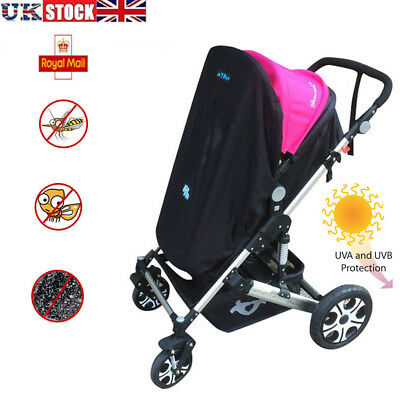 Baby Universal Sun Shade Pushchair Stroller Buggy Koo-DI Blackout Blind Sleep