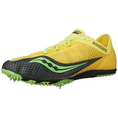 Saucony Mens Endorphin Track Spike Breathable Running Shoes Athletic BHFO  2194 607916b71