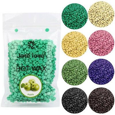 100g Hard Wax Beans Hair Removal Waxing Bikini Depilatory No Strip Pellet Aloe