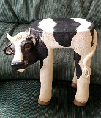 Adorable Cow Stool Or Plant Stand
