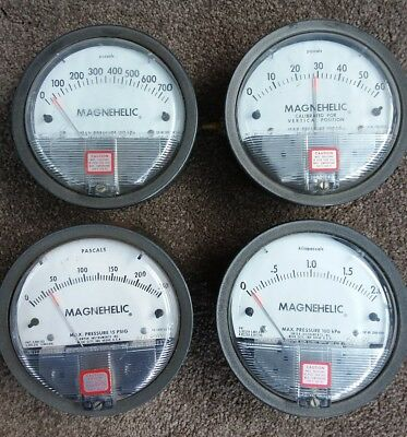 Dwyer 2000-500PA MAGNEHELIC DIFFERENTIAL PRESSURE GAUGE