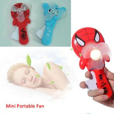 Mini Air Cooling Fan Hand Held Portable For Travel Beach Use 2 Colors Gift