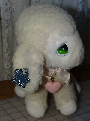 "1985 Applause LEVI LAMB Precious Moments 10"" Plush Pink Locket Vintage Stuffed"