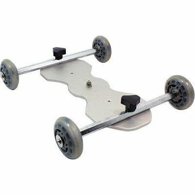 Glide Gear SYL 920 Video Camera Skater Table Top Roller Wheel Track Dolly