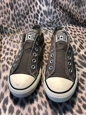 Women's Converse Gray One Star Size 7 US Red 507922FT