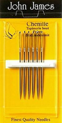 Pack Of Chenille Needles. Size 26