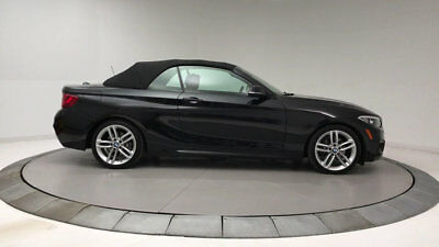 BMW 2 Series 228i 228i 2 Series 2 dr Convertible Gasoline 2.0L 4 Cyl Black Sapphire Metallic