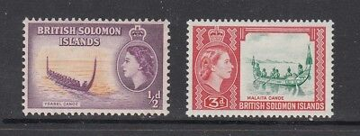 BRITISH SOLOMON ISLANDS STAMPS UNUSED.Rfno.A244.