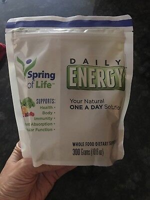 Spring of Life Daily Energy Dietary Supplement  300 Grams