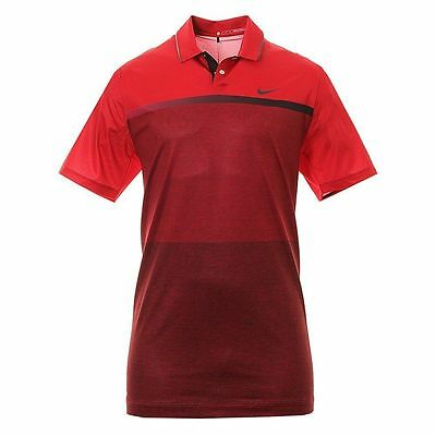 cb055faf Nike TW Tiger Woods Mobility Print Golf Shirt Size S RED NWT 845083 MSRP $95