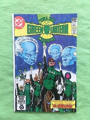 Tales of the Green Lantern Corps #1 (May 1981, DC) NM