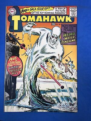 Tomahawk #100 DC, 1965 100th Gala Issue Gift Pin Up Picture Rip-Roaring Rangers!