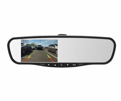 "Crimestopper MIR-045 Universal 4.5"" LCD Rear View Mirror Mount Monitor System"