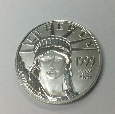 1999 1/4 oz BU PLATINUM AMERICAN EAGLE - BIDDING STARTS AT .99 CENTS