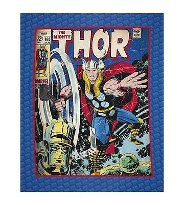 "The Mighty Thor  Very Large Digital  Panel Marvel Comics   34x44"" Camelot Fabric"