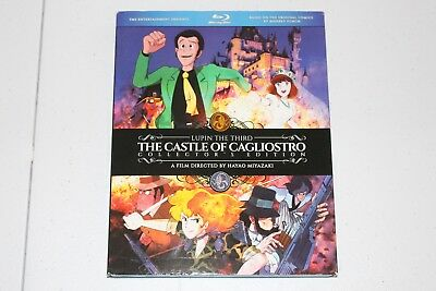 Lupin the Third: The Castle of Cagliostro Blu Ray