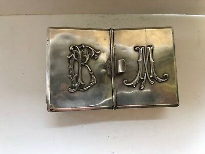 Antique Russian 84 Silver Jewelry Box