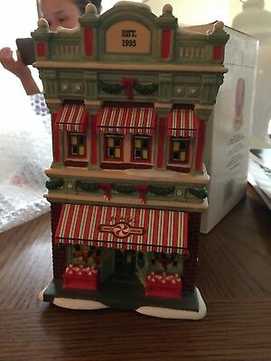 Department 56 A Christmas Story Pulaski's Candy Store MIssing a tiny piece