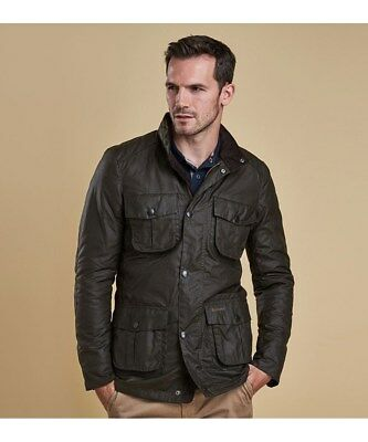 Barbour Corbridge Wax Jacket Olive Medium
