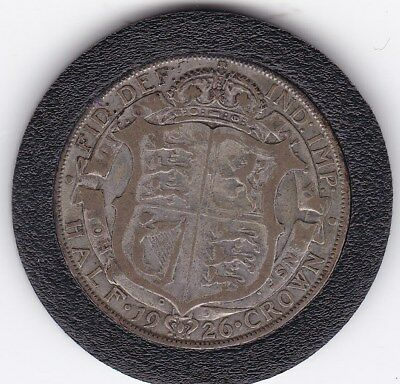 1926   King  George V  Half  Crown  (2/6d) -  Silver  (50%)  Coin