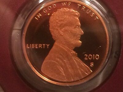 2010 S Lincoln Cent Penny Cameo Awesome Coin