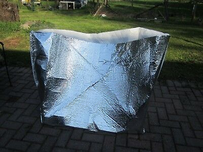 4 Large Insulated Foil Thermal Bubble Shipping Bags