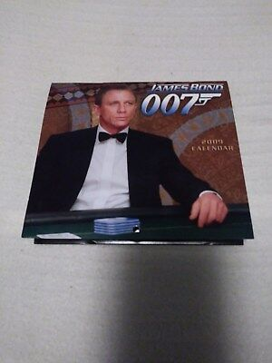 WHOLESALE LOT OF 15, 2009 James Bond calendar5&3/4 in X 5&1/4 inSEE DISCRIPTION