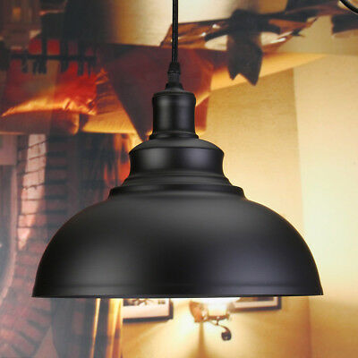 Retro Pendant Light Lamp Vintage Industrial Ceiling Lighting Hanging Chandelier
