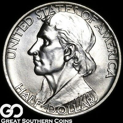 1938-S Boone Commemorative Half Dollar, Solid Gem BU++ Better Date ** Free S/H