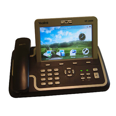 "Voice-over-IP (VoIP)/Video-Telefon ""Yealink VP-2009"" inkl. PoE-Adapter"