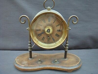 Old Mantle Clock For Spares Restoration D Imr & Co Llanelly Llanelli Wales