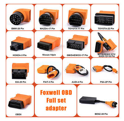 Foxwell OBD2 16Pin Car Diagnostic Tool Adapter Transfer interface Auto Connector