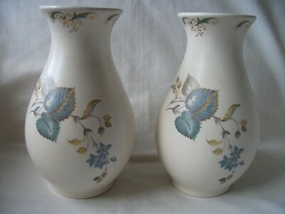 Pair of Axe Vale Pottery Vases – Ref 1630